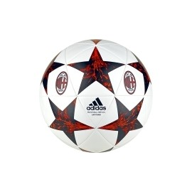 Adidas Pallone Finale 17 Ac Milan Bianco/Rosso