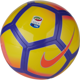 Nike Pallone Serie A Ptch Yellow/Purple