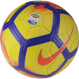 Nike Pallone Serie A Strike Yellow/Crimson