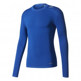 Adidas T-Shirt Ml Techfit  Royal