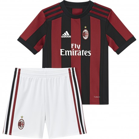 Adidas Set bambino Acm Home Mini  Rosso/Nero