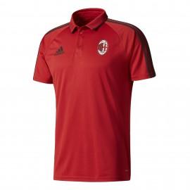 Adidas Polo Mm Ac Milan  Rosso/Nero