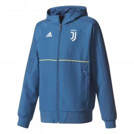 Adidas Felpa bambino C/Capp Juve  Royal/Gold