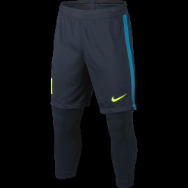 Nike Short bambino Dry Sqd 2in1  Blu