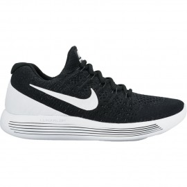 Nike Scarpa Lunarepic Low Flyknit 2 Black/White