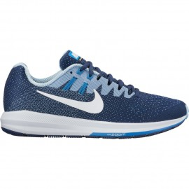 Nike Scarpa Donna Air Zoom Structure 20 Binary Blue/White