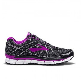 Brooks Scarpa Donna Adrenaline Gts 17 Metallic Charcoal/Black