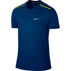 Nike T-Shirt Mm Rn Brthe Talwind    Blue Jay/Htr