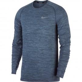 Nike T-Shirt Ml Rn Df Knit    Cirrus Blue/Thunder