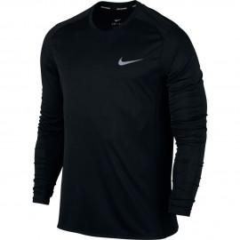 Nike T-Shirt Ml Rn Dry Miler Black