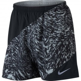 Nike Short 7in Rn Flx Distance Pr    Wolf Grey/Black