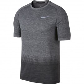 Nike T-Shirt Mm Rn Df Knit    Anthracite/Wolf Grey