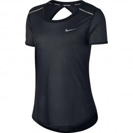 Nike T-Shirt Donna  Mm Run Brthe    Black