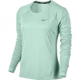 Nike T-Shirt Donna  Ml Rn Dry Miler    Igloo