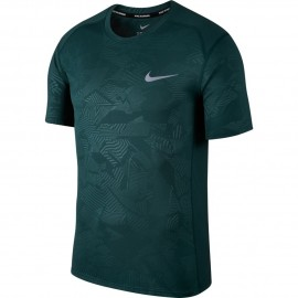 Nike T-Shirt Mm Run Dry Miler Pr    Atomic Teal