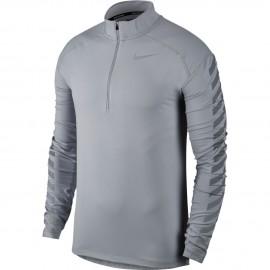 Nike T-Shirt Ml Run Flsh Elmnt Hz Gx Wolf Grey