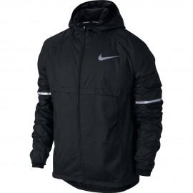 Nike Jkt Run Shld Hd    Black
