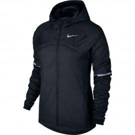 Nike Jkt Donna  Run Shld Hd Black