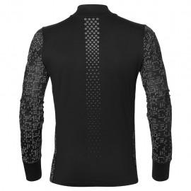 Asics T-Shirt Ml Rn Lite-Show 1/2 Zip    Performance Black