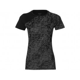Asics T-Shirt Donna  Mm Rn Lite-Show    Performance Black