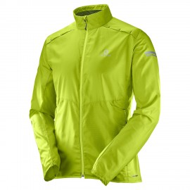 Salomon Giacca Agile Wind Acid Lime