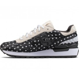 Saucony Shadow Original CL Donna Black/White Pois