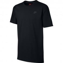 Nike T-Shirt Girocollo Tch Flc Unisex Nero