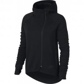 Nike Felpa Donna Chiodo Tech Flc Black