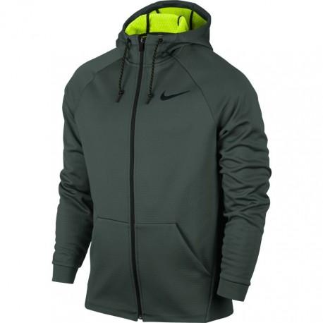Nike Felpa Thrma Jkt Grigio