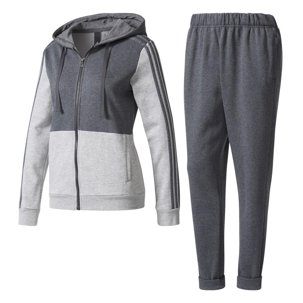 pantaloni tuta grigi adidas donna