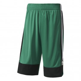Adidas Short Poly Commander Verde/Nero