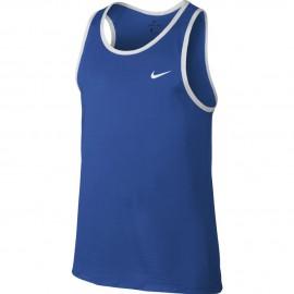 Nike Canotta Basket Crossover Blu/Bianco