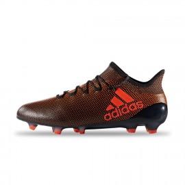 Adidas X 17.1 FG Nero/Rosso