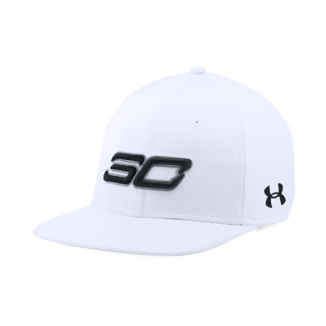 Under Armour Cappellino Ua Sc30 Core  Bianco/Nero