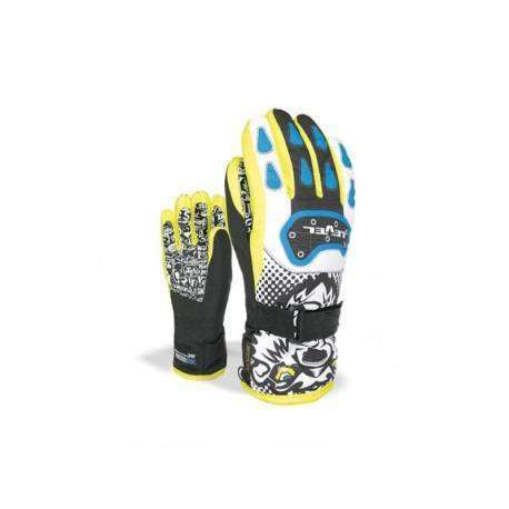 Level Guanto Junior Black/Yellow