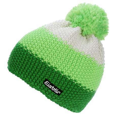 Eisbar Berretto Star Neon Pompon Sp Verde Bianco