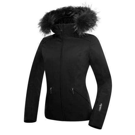 Zerorh+ Giacca Donna Sci Grace Fur Black