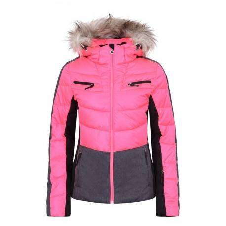 Icepeak Giacca Girl Cathy Pink Neon