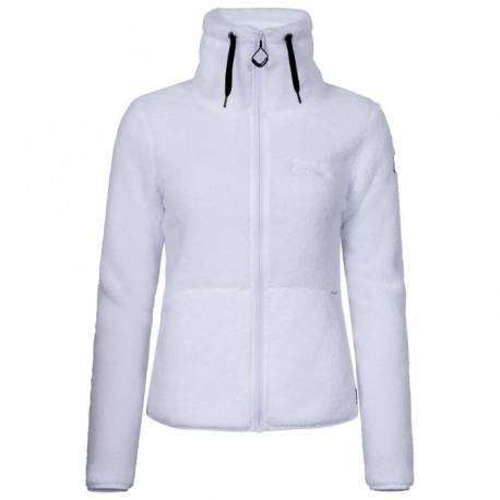 Icepeak Fleece Donna Karmen White