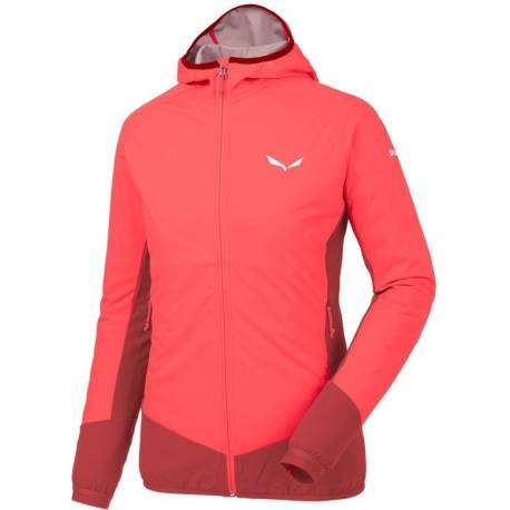 Salewa Giacca Donna Pedroc Sw/Dst Hot Coral