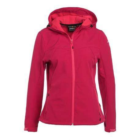 Icepeak Softshell Donna Lucy Cranberry