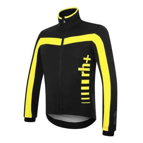 Zerorh+ Giacca Logo Evo Black/Fluo Yellow