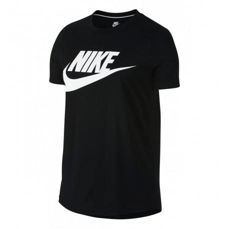 Nike T-Shirt Donna Essential Logo Black