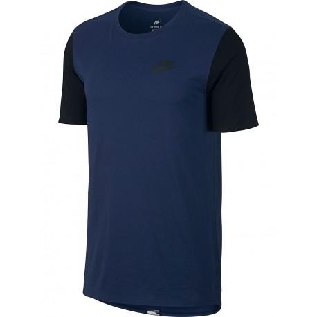 Nike T-Shirt Mm Advance Blu