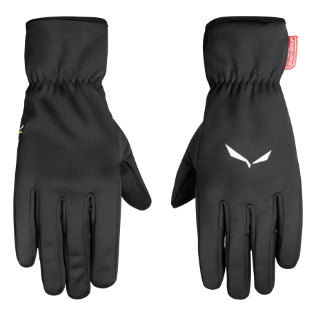 Salewa Guanti Windstopper Finger Black Out