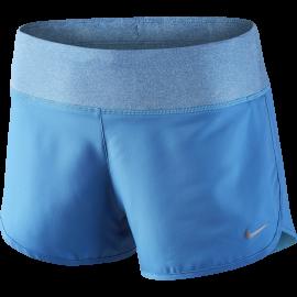 Nike Short Rival 3 Run Azzurro Donna