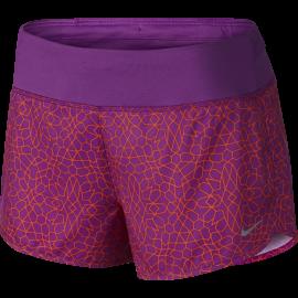 Nike Short Rival 3 Run Fucsia Print Donna