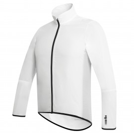 Zerorh+ Giacca Wind Shell White-Black