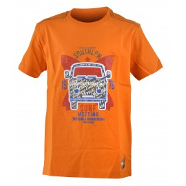 Get Fit T-Shirt Bus Arancio Bambino