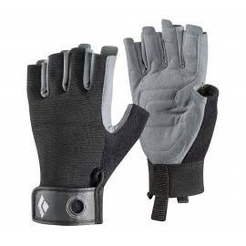 Black Diamond Guanti Crag Half-Finger Black